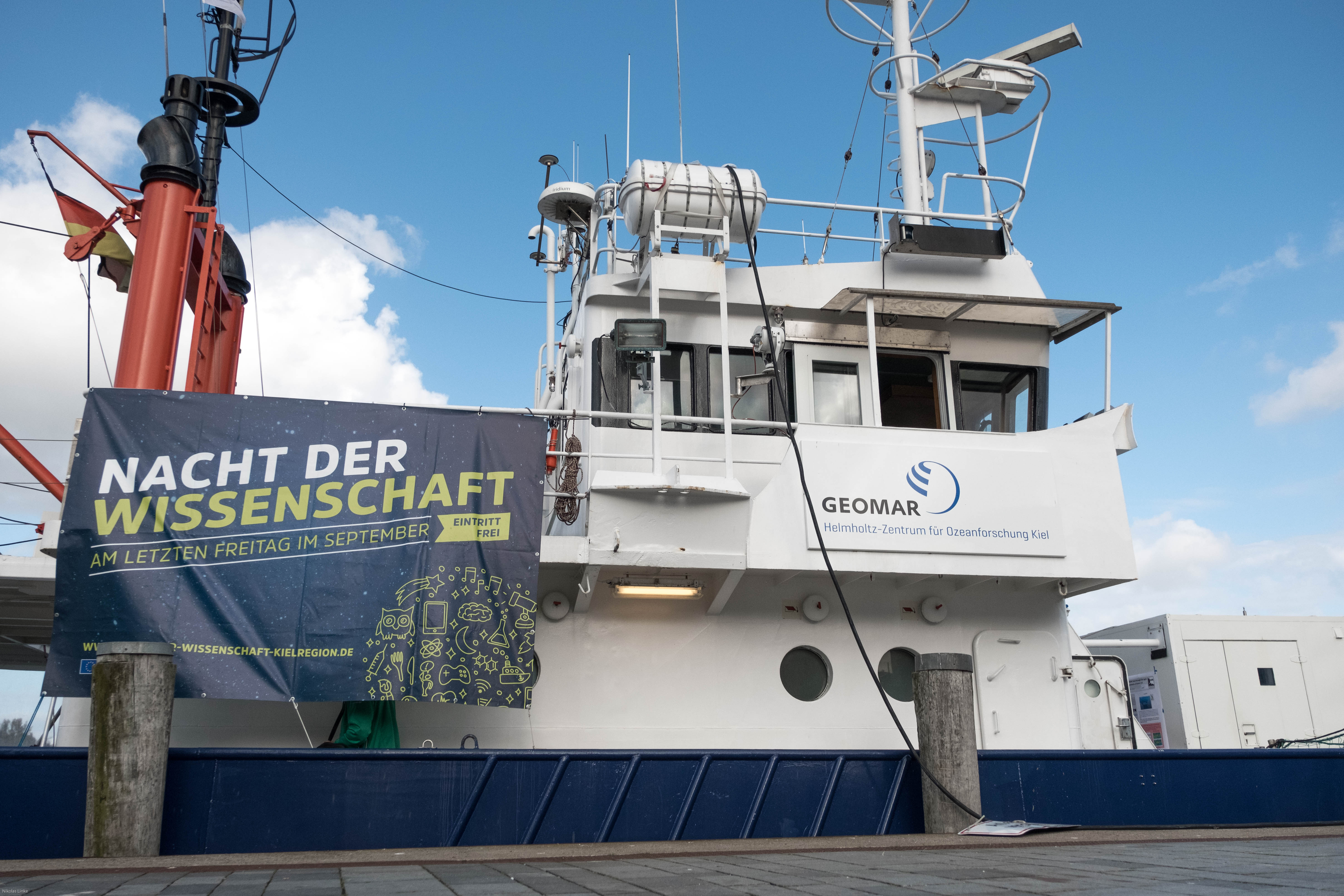R/V Littorina Open-Ship at the European Researchers' Night (Photo: N. Linke)