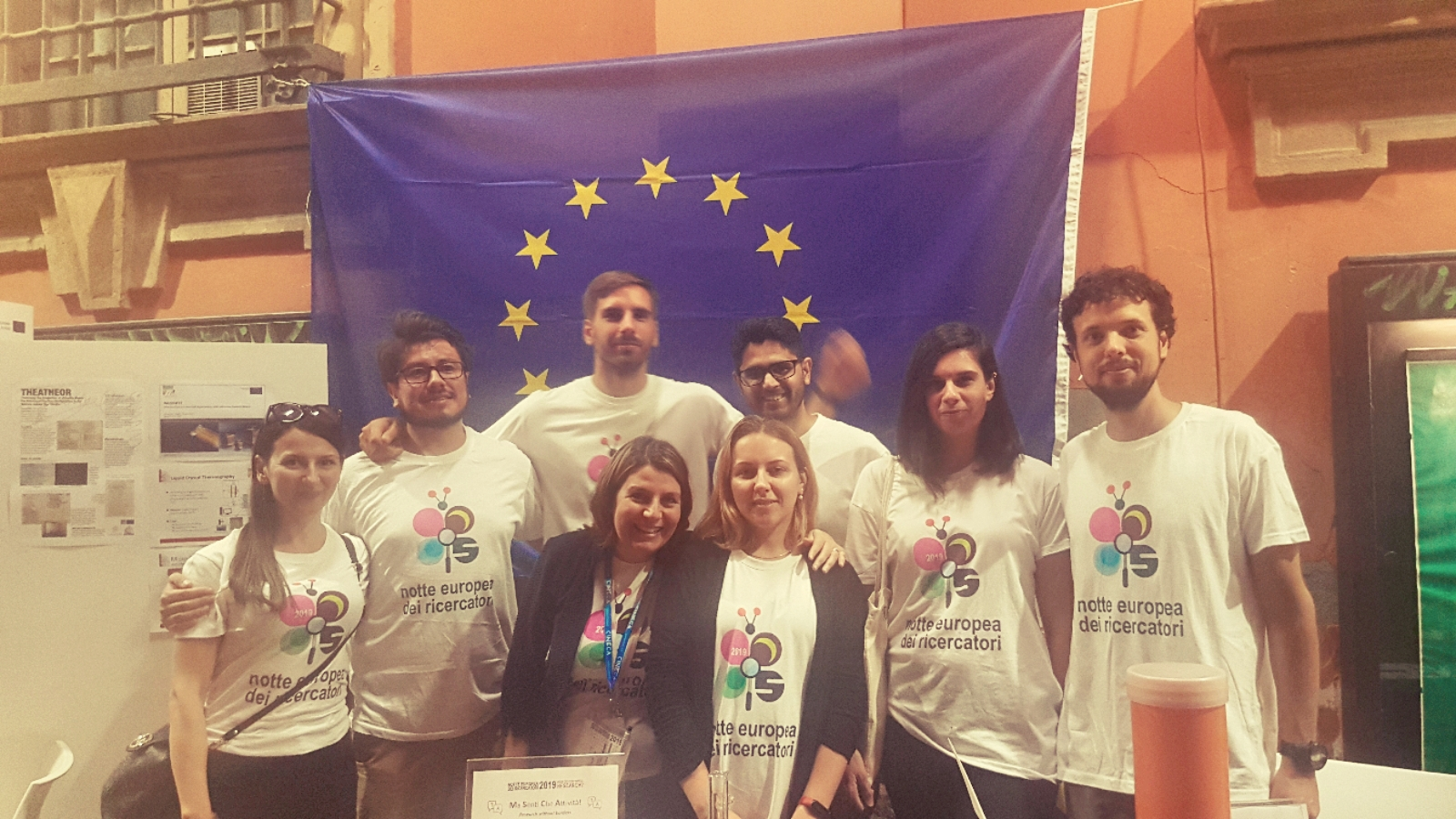 Marie Sklodowska-Curie Actions fellows participating in the European Researchers' Night 2019