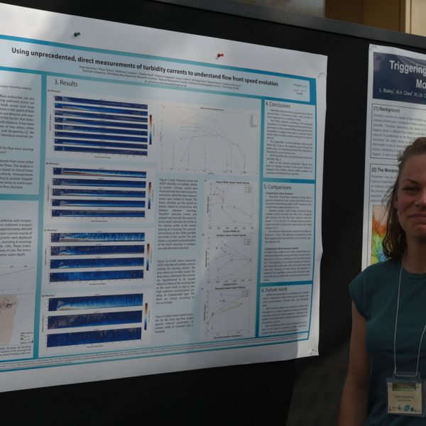 Poster presentation with Kate