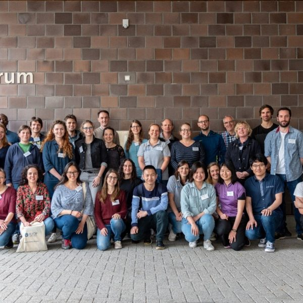 Group photograph of participants and lectures of the ECORD Training Course 2018 at the MARUM, University of Bremen