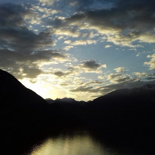 Sunset on the Squamish Bay
